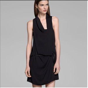 Helmut Lang Solar Drape Wrap Dress